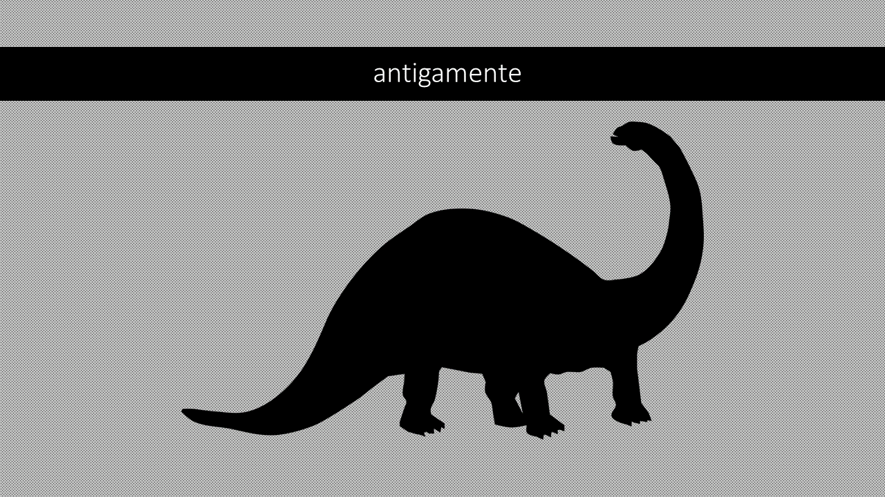 dinossauroAntigamente